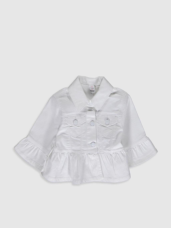 Ekru Kız Bebek Ceket 0SC246Z1 LC Waikiki