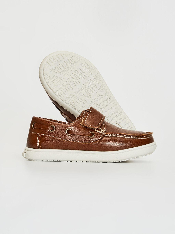 Erkek Bebek Erkek Bebek Cırt Cırtlı Klasik Ayakkabı