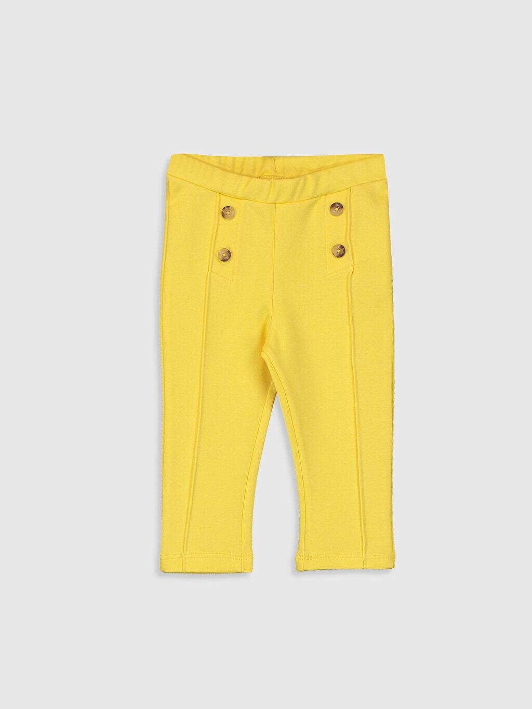 Sarı Kız Bebek Uzun Tayt 0SD521Z1 LC Waikiki