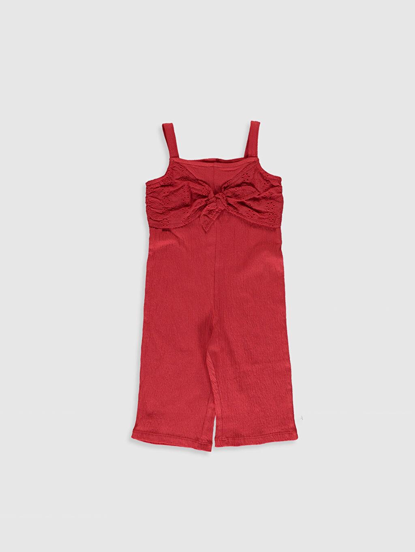 Kırmızı Kız Bebek Tulum 0SD986Z1 LC Waikiki