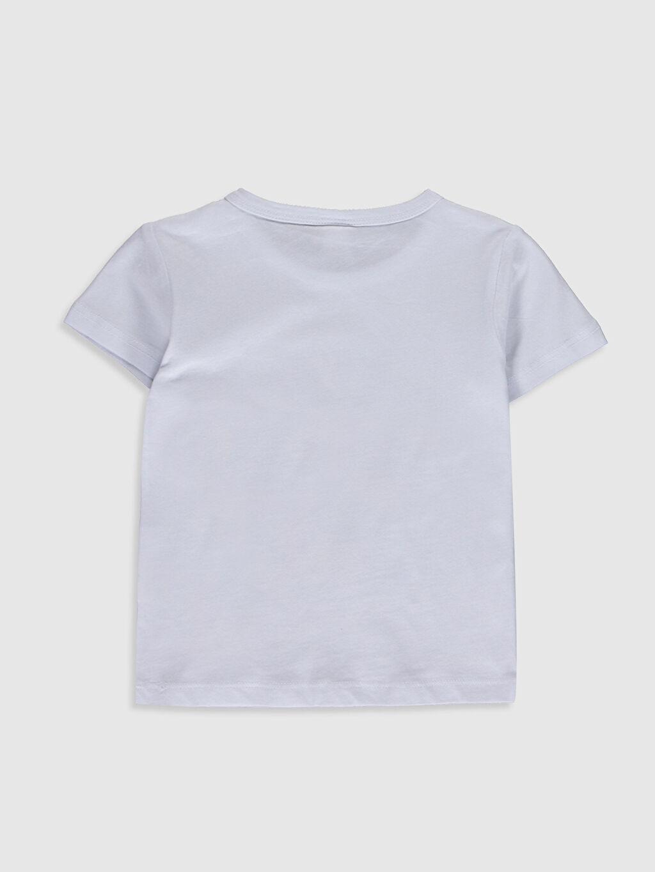 %100 Pamuk Baskılı Kısa Kol Tişört Bisiklet Yaka Normal Erkek Bebek Baskılı Pamuklu Tişört