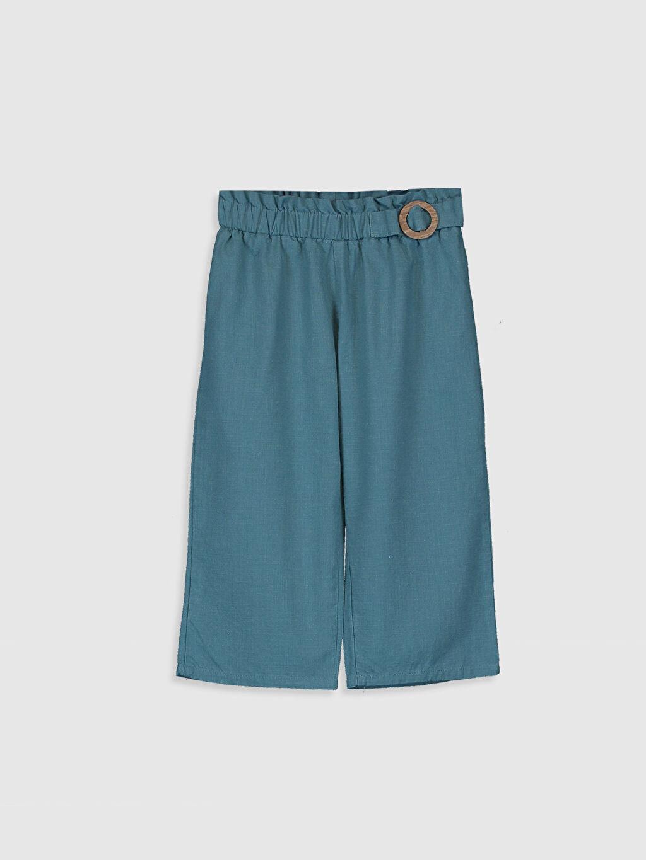 Mavi Kız Bebek Bol Paça Pantolon 0SP329Z1 LC Waikiki