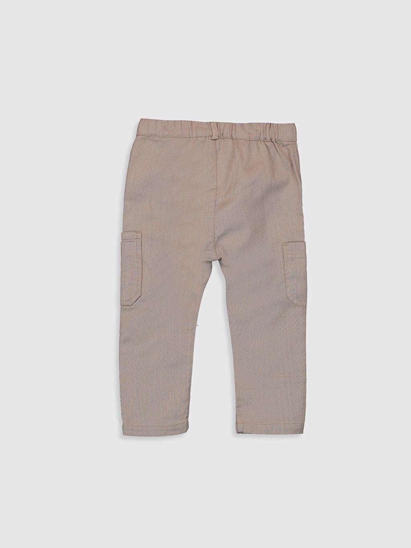 %100 Pamuk %100 Pamuk Aksesuarsız Bol Astarsız Pantolon Kargo Düz Erkek Bebek Pamuklu Pantolon