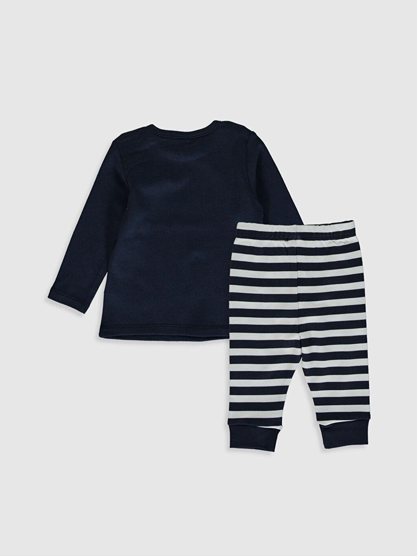 %100 Pamuk %100 Pamuk %100 Pamuk Uzun Kol Kalın Pijama Takım İnterlok Standart Erkek Bebek Baskılı Pijama Takımı