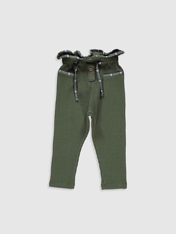 Haki Kız Bebek Pantolon 0ST531Z1 LC Waikiki