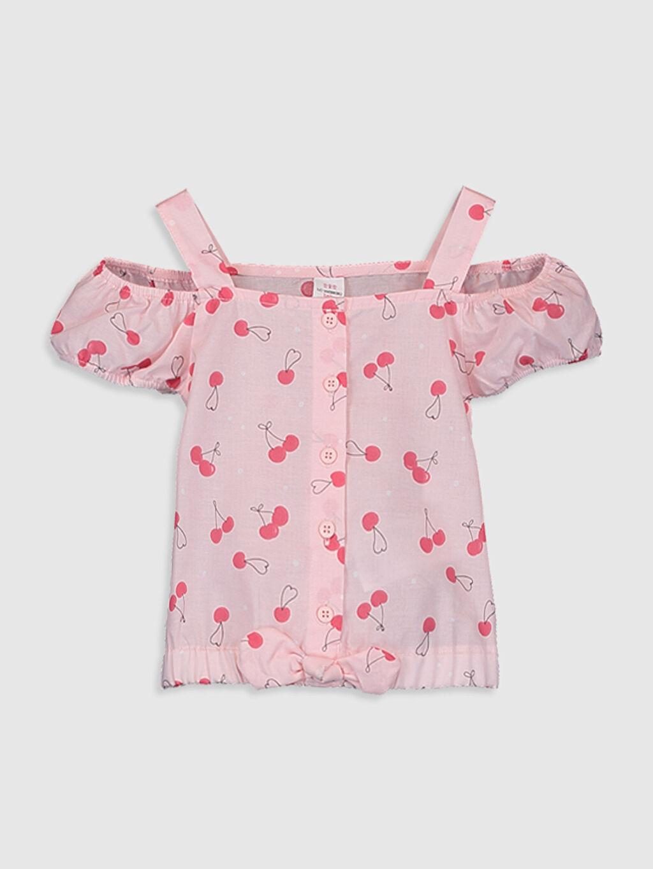 Pembe Kız Bebek Pamuklu Bluz 0SU524Z1 LC Waikiki