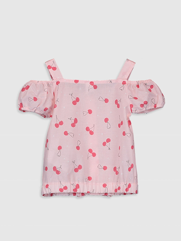 %100 Pamuk Standart Baskılı Kolsuz Bluz Kız Bebek Pamuklu Bluz