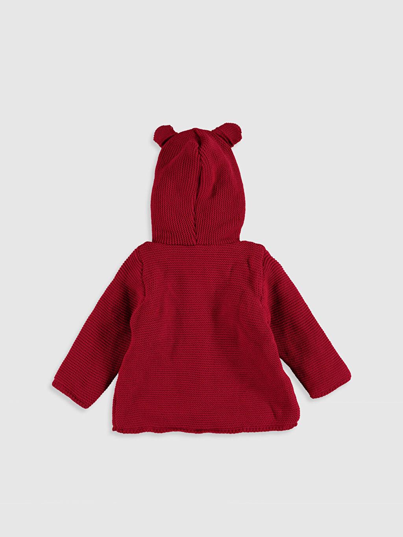 %100 Akrilik %100 Polyester Hırka Düz Kız Bebek Triko Hırka