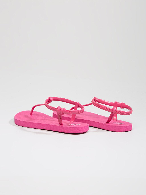 Genç Kız Fuşya Sandalet