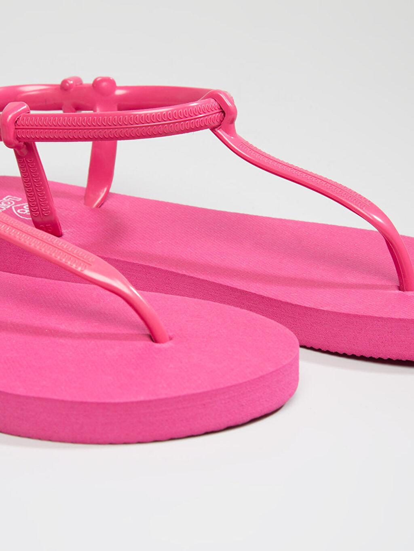 Fuşya Sandalet