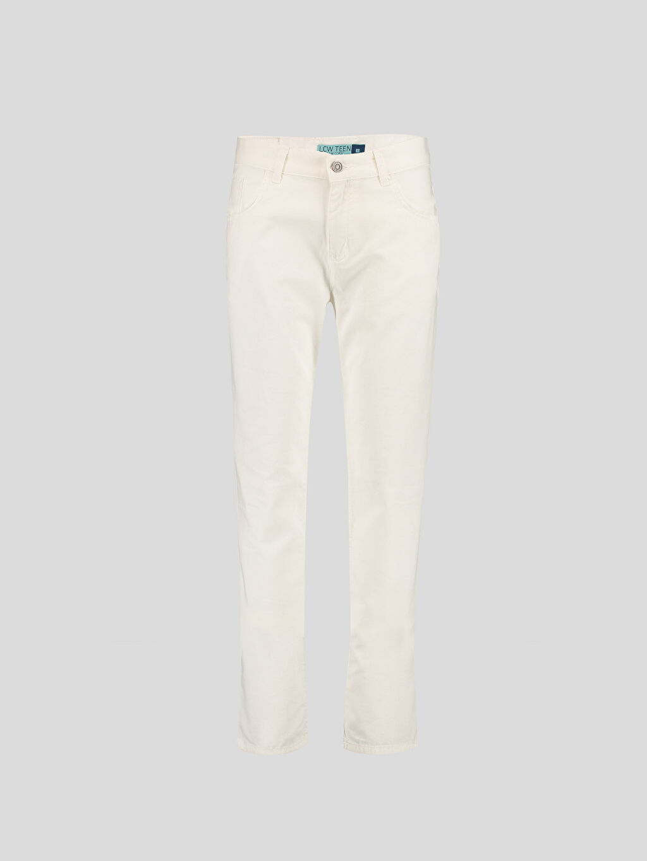 Beyaz Beyaz Dar LCW Young Pantolon 6Y5113Z6 LC Waikiki