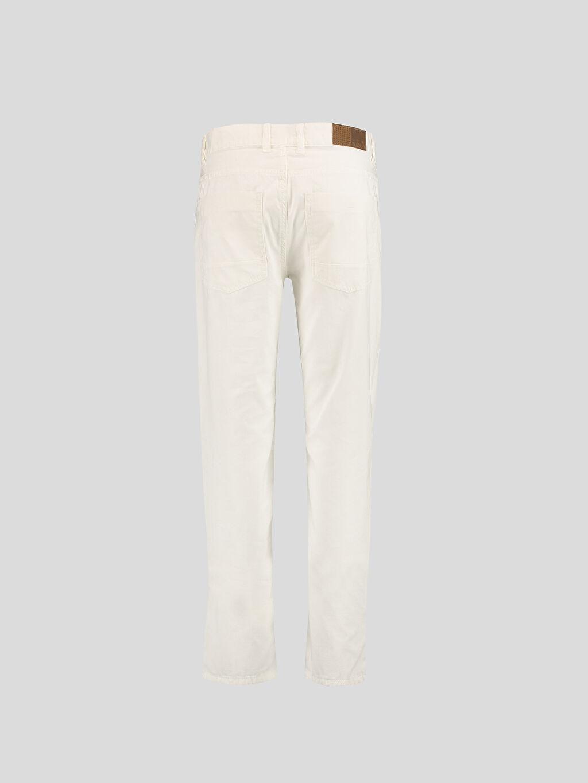 %100 Pamuk Dar Beyaz Dar LCW Young Pantolon