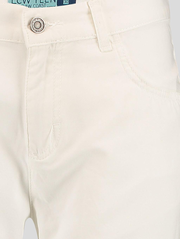 Erkek Beyaz Dar LCW Young Pantolon