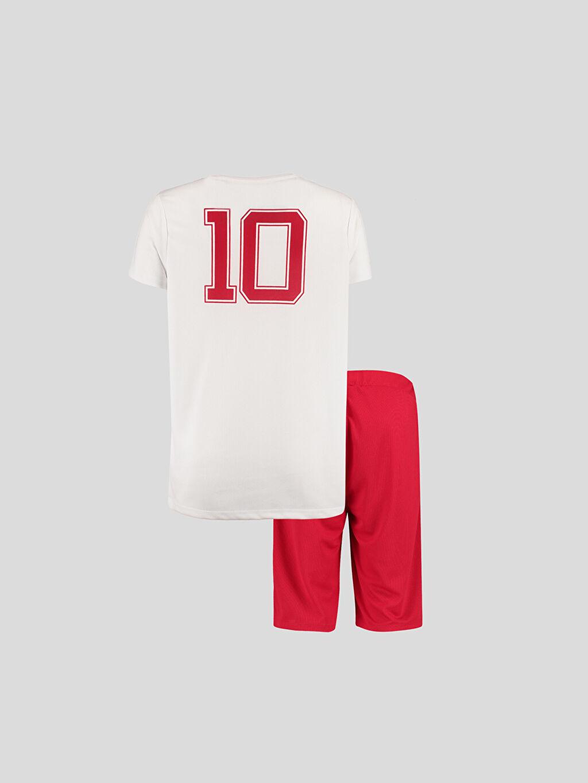 %100 Polyester %100 Polyester  Beyaz Takım