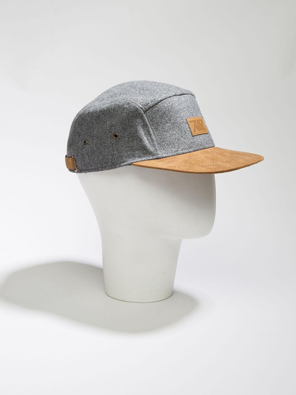 Gri Gri Şapka 6K8236Z8 LC Waikiki