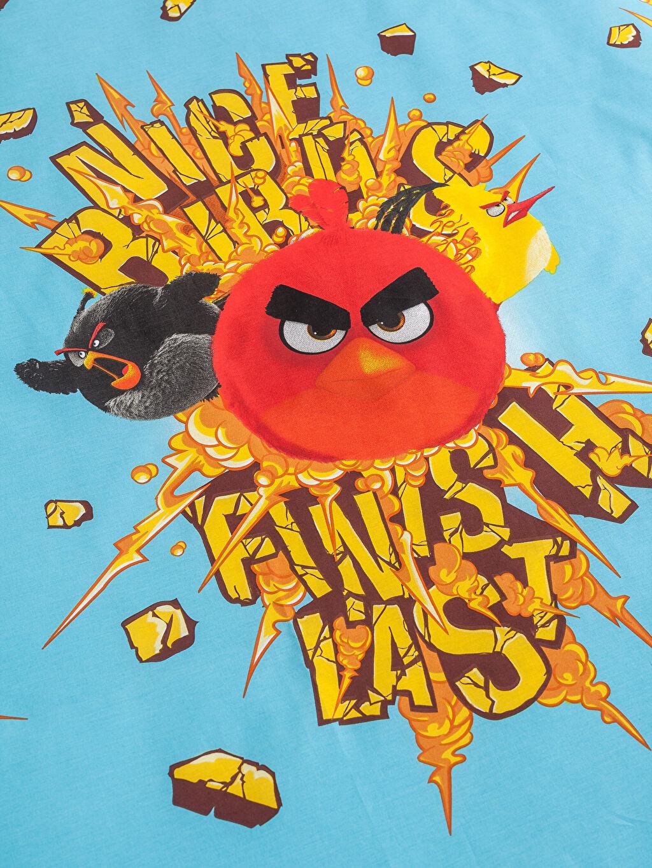 Çok Renkli Angry Birds Nevresim Takımı