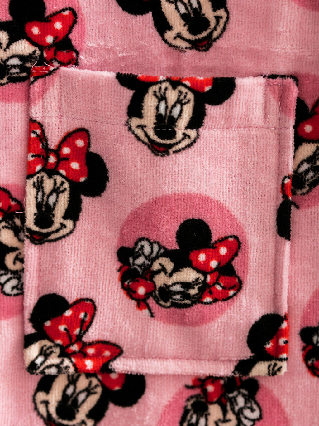 Minnie Mouse Bornoz