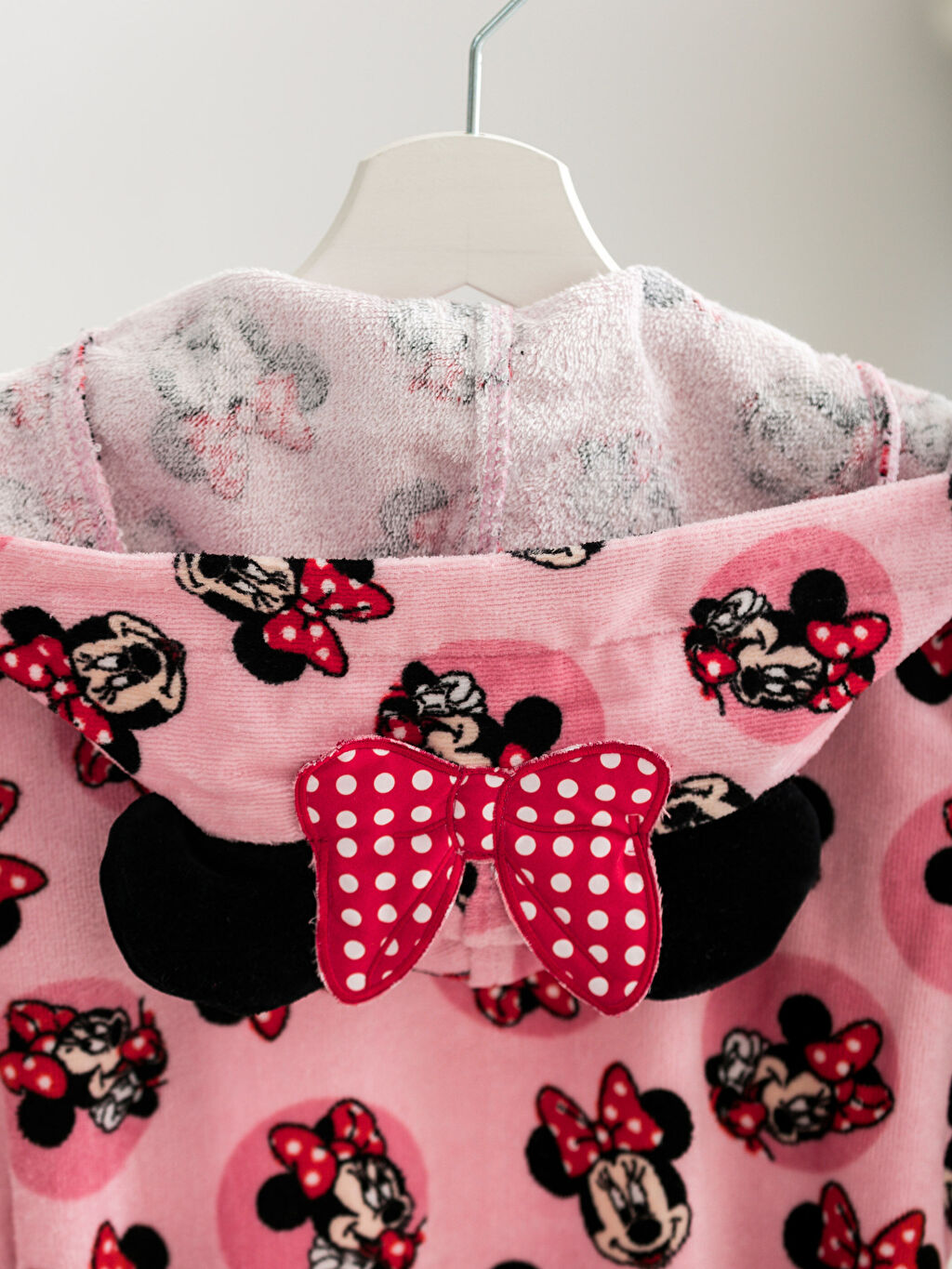 %100 Pamuk Minnie Mouse Bornoz