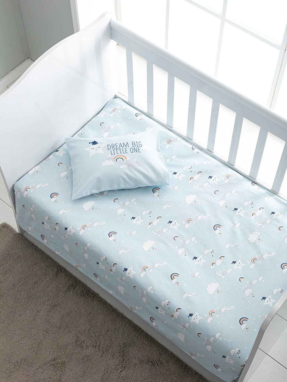 %100 Pamuk Bebek Nevresim Erkek Bebek Nevresim Takımı
