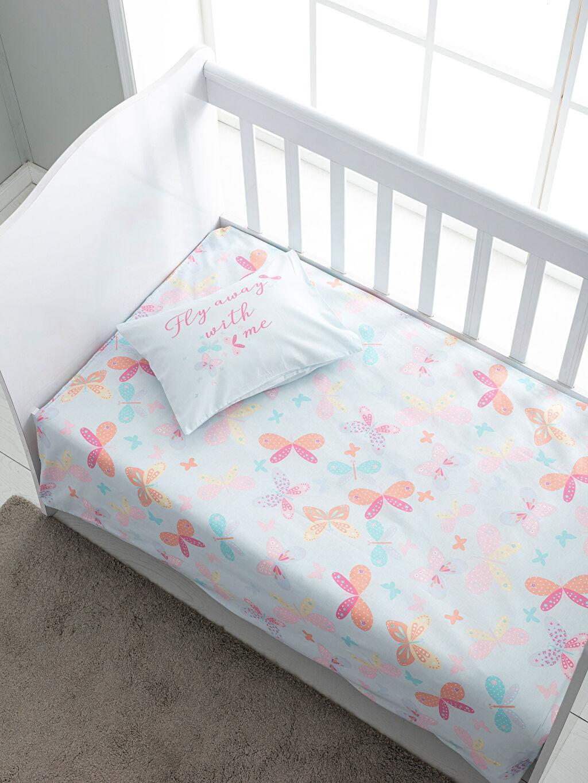 %100 Pamuk Bebek Nevresim Kız Bebek Nevresim Takımı