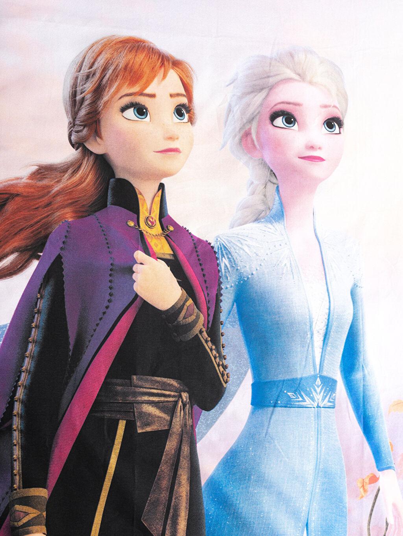 %100 Pamuk Frozen Lisanslı Çift Taraflı Nevresim Takımı