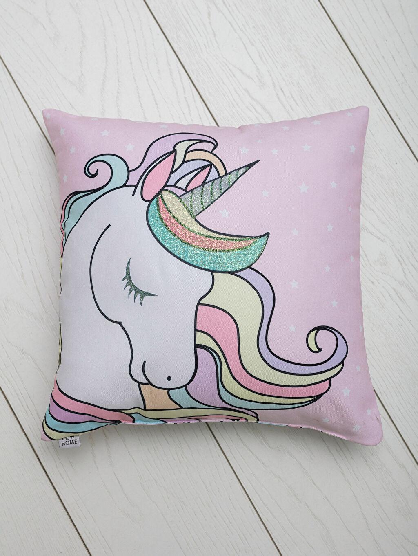Unicorn Baskılı Kırlent