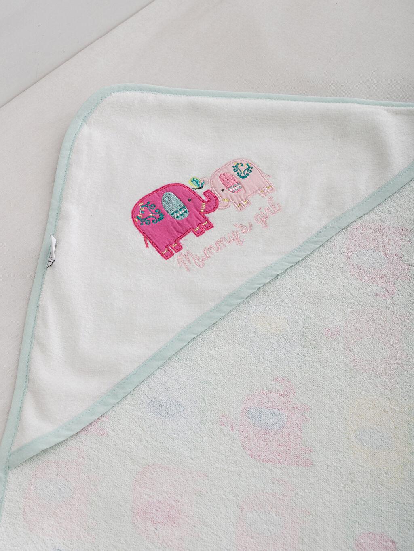 Bebek Nakışlı Banyo Havlusu