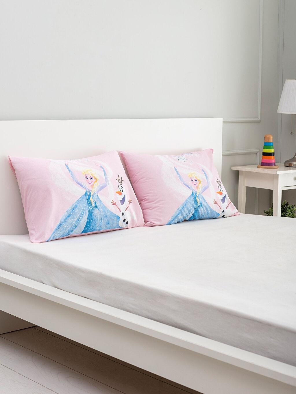 Çok Renkli Frozen Lisanslı Yastık Kılıfı 2'li 0SI441Z4 LC Waikiki