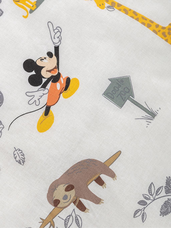 %100 Pamuk Mickey Mouse Lisanslı Bebek Nevresim Takımı