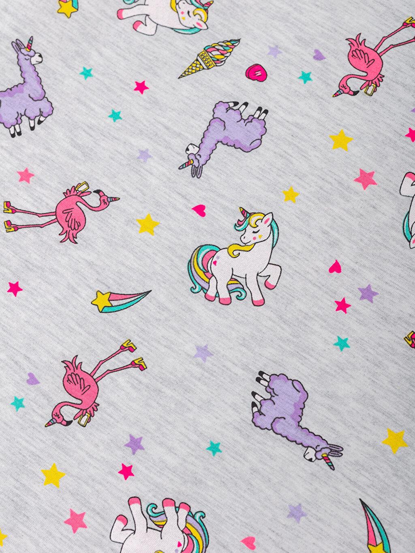 Unicorn Baskılı Müslin Bebek Battaniye