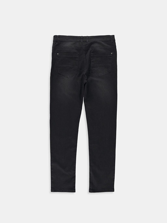 %100 Pamuk Dar Siyah Dar LCW Young Pantolon