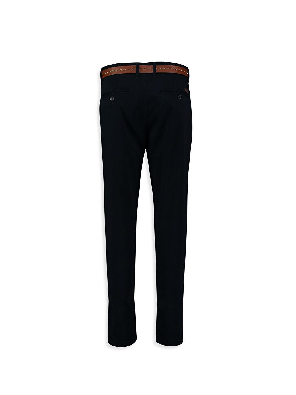 %98 Pamuk %2 Elastan Normal Lacivert Normal LCW Young Pantolon