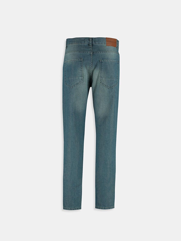 %79 Pamuk %21 Polyester Dar İndigo Dar LCW Young Jean