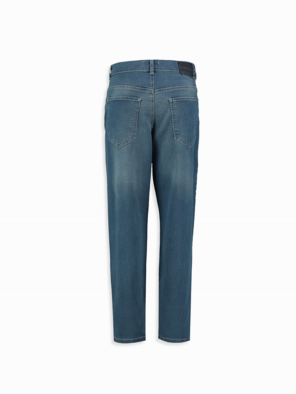 %98 Pamuk %2 Elastan Normal Bel Jean Normal İndigo Normal Bel Normal LCW Young Jean