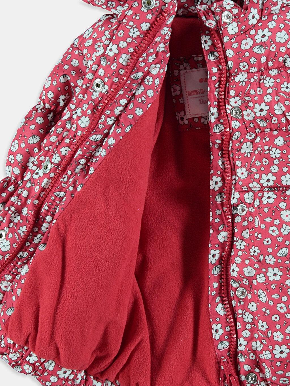 %100 Polyester %100 Polyester Mont Kalın Kırmızı Kalın Mont