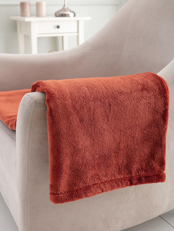Kırmızı Well Soft Diz Battaniyesi 9WH390Z8 LC Waikiki