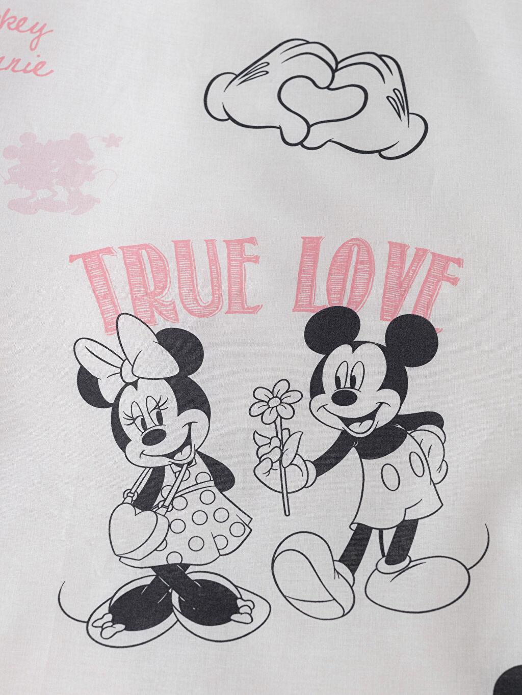 Minnie & Mickey Mouse Lisanslı Nevresim Seti