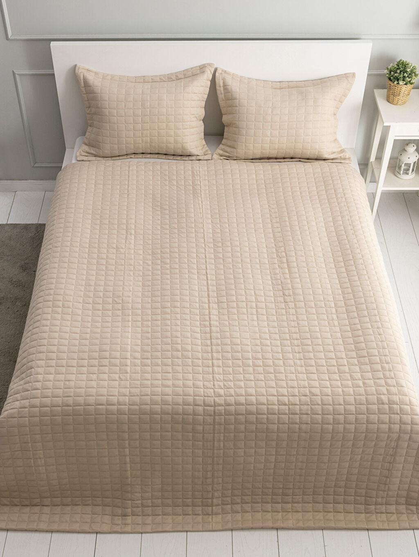 %100 Polyester  Çift Kişilik Yatak Örtüsü Seti