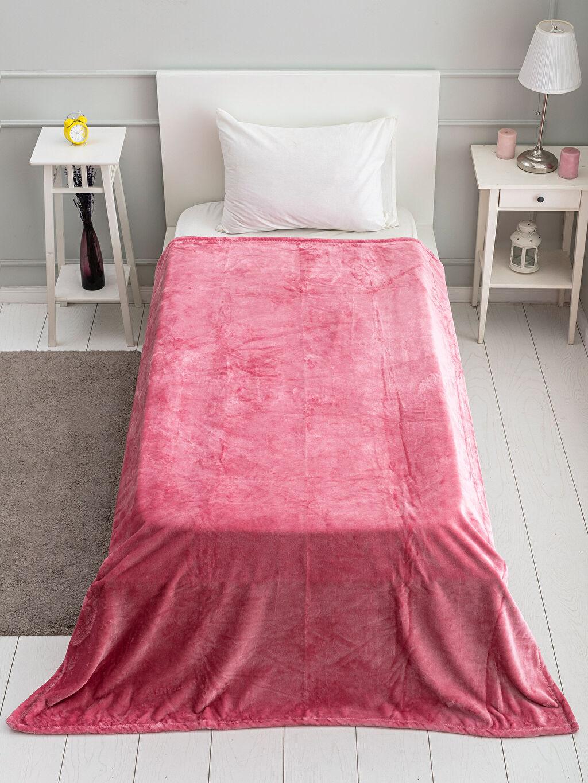 %100 Polyester Tek Kişilik Battaniye Tek Kişilik Well Soft Battaniye