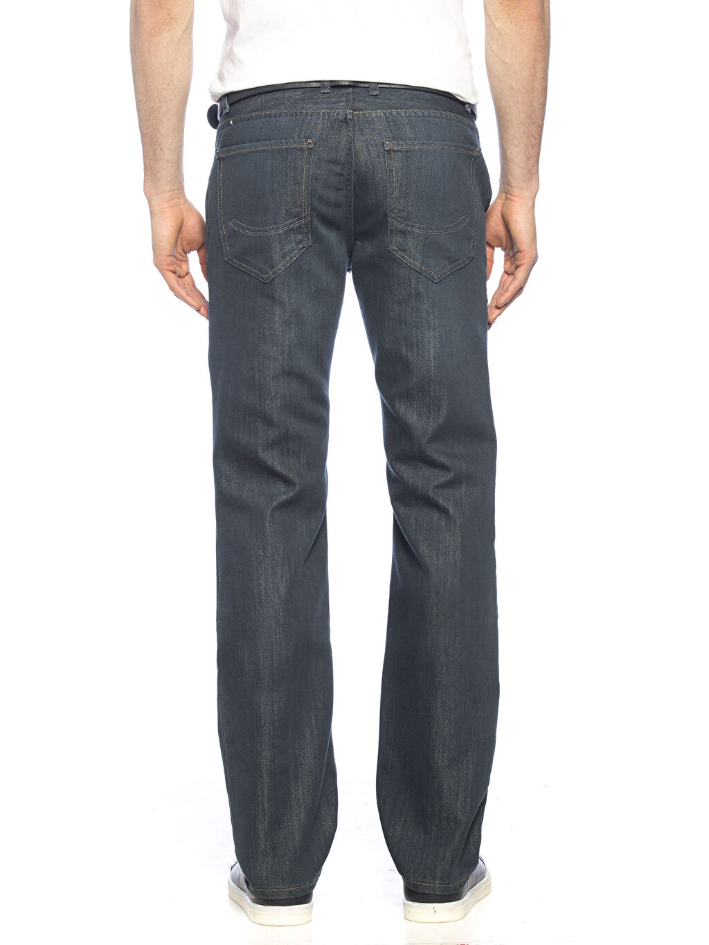 %67 Pamuk %33 Polyester Normal Jean Normal Bel Regular Jean Pantolon