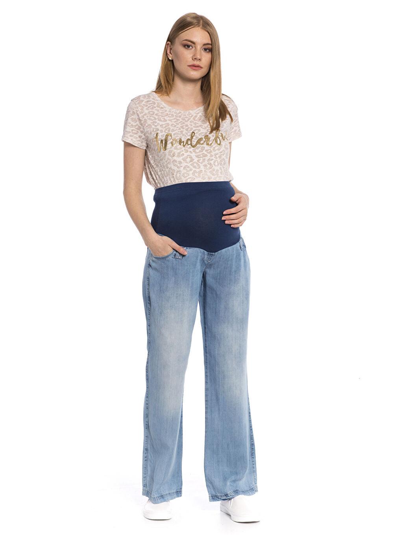 Kadın Hamile Jean Pantolon