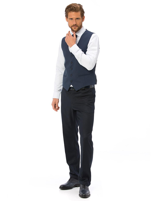 Erkek Klasik Takım Elbise Yeleği