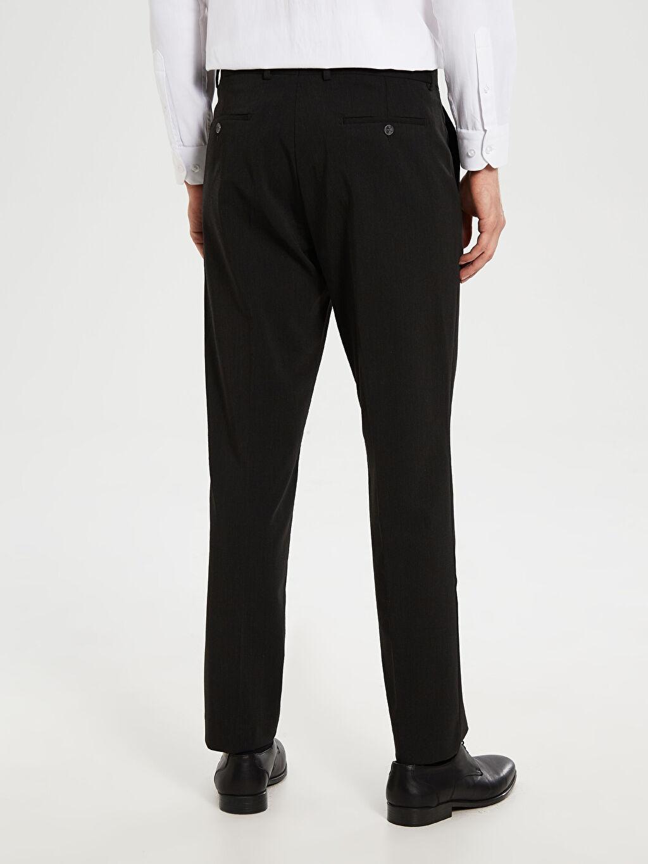 %71 Polyester %7 Elastan %22 Viskoz Standart Kalıp Takım Elbise Pantolonu