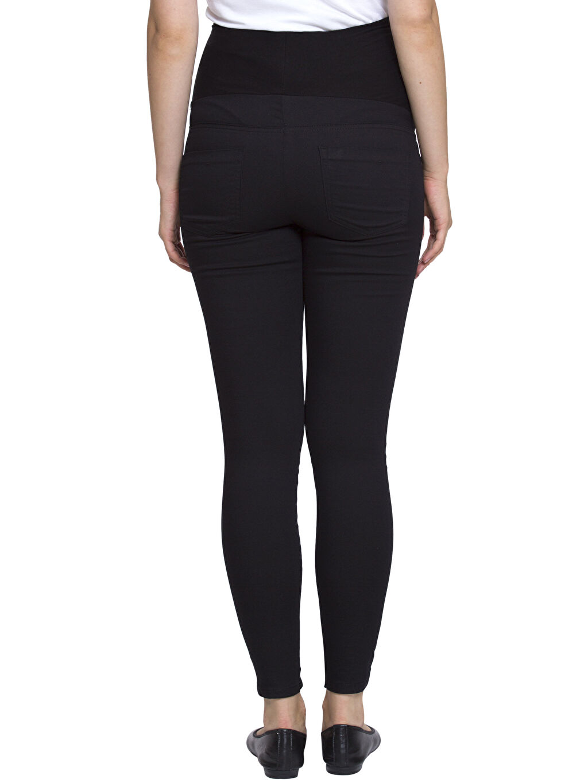 %68 Pamuk %29 Polyester %3 Elastan Pantolon Skinny Hamile Pantolon