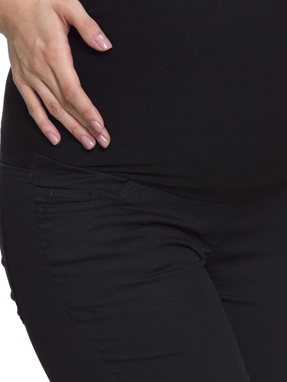 %68 Pamuk %29 Polyester %3 Elastan Skinny Hamile Pantolon