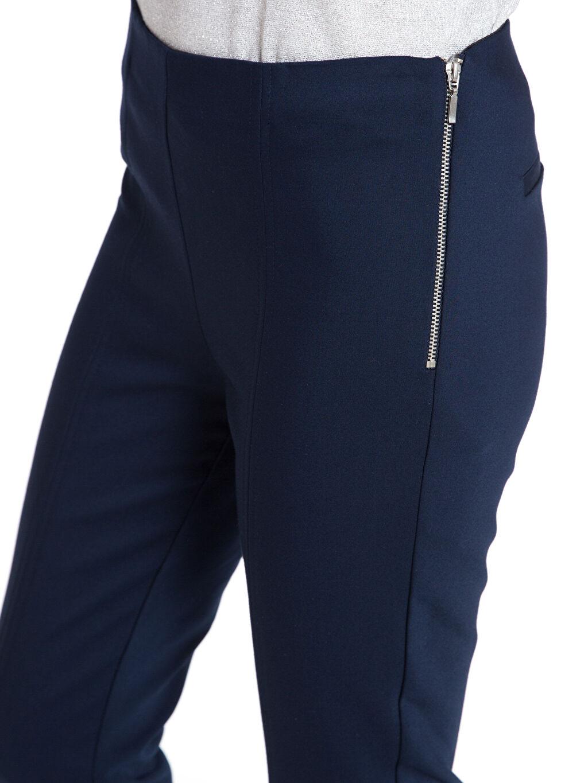 %57 Pamuk %39 Polyester %4 Elastan Bilek Boy Skinny Kumaş Pantolon