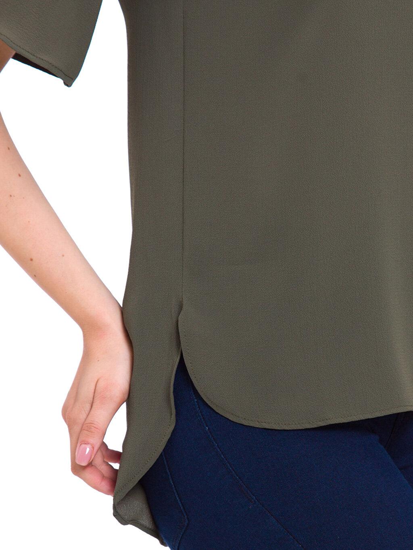 %98 Polyester %2 Elastan Bluz