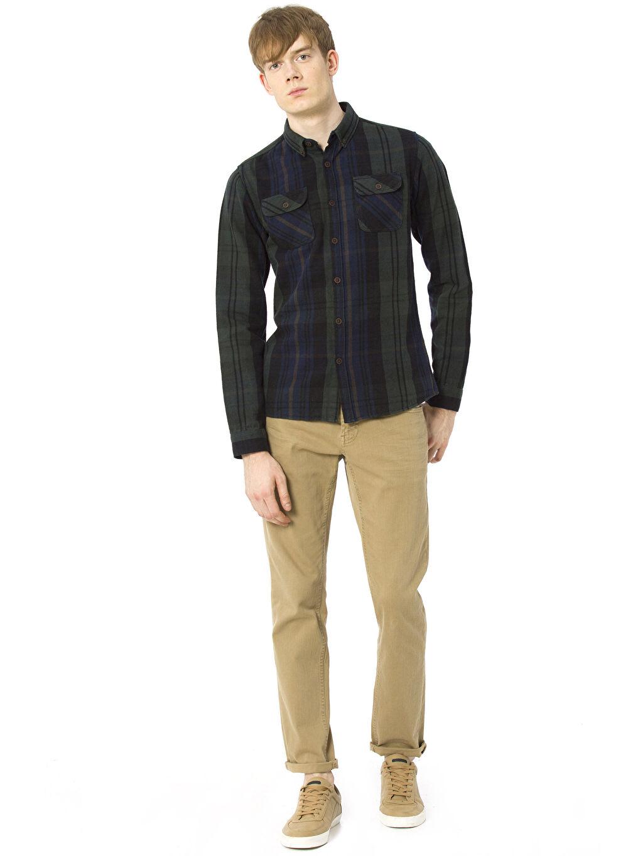 Genç Erkek Uzun Kollu Gömlek