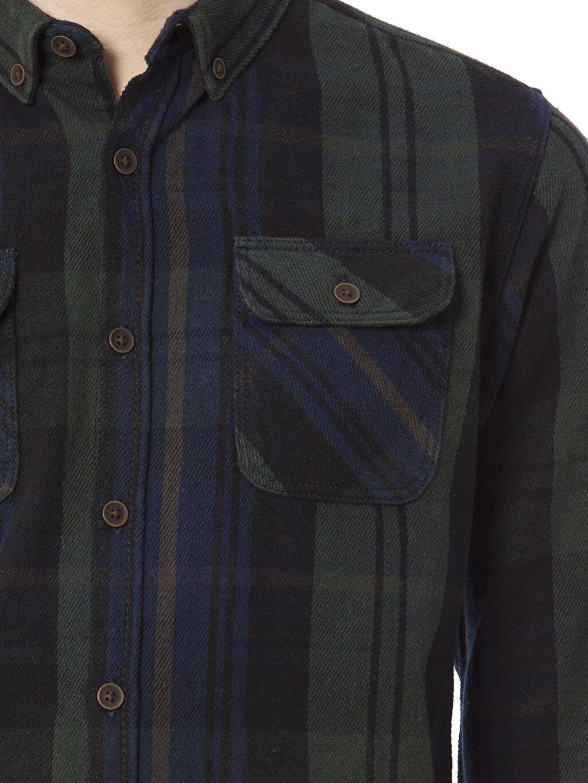 %100 Pamuk Uzun Kollu Gömlek