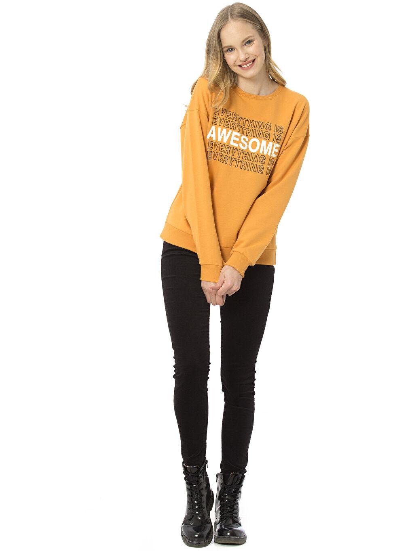 Kadın Skinny Kadife Pantolon